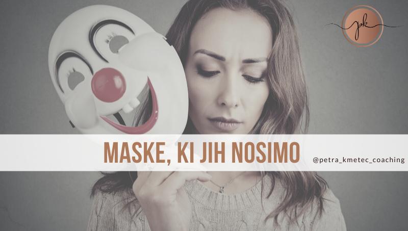 Maske, ki jih nosimo